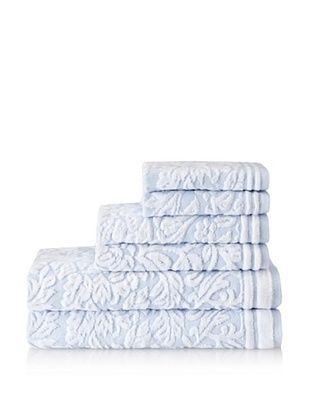 Espalma Chantelle 6-Piece Towel Set (Water Blue)