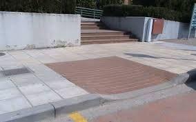 Πεζοδρόμιο (ΑΜΕΑ) κανονισμός 61 πρόσβαση.