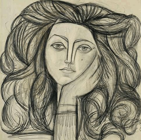Arty Gif #2  #gif #art #Picasso #drawing