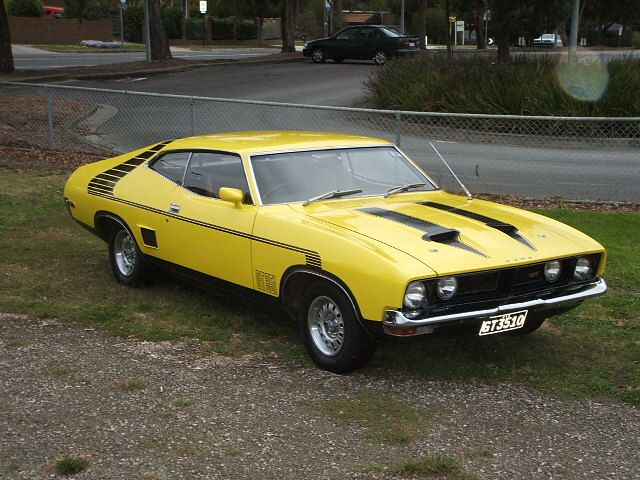 Ford Falcon XB GT Coupe (Somewhere between 1973 - 1976)