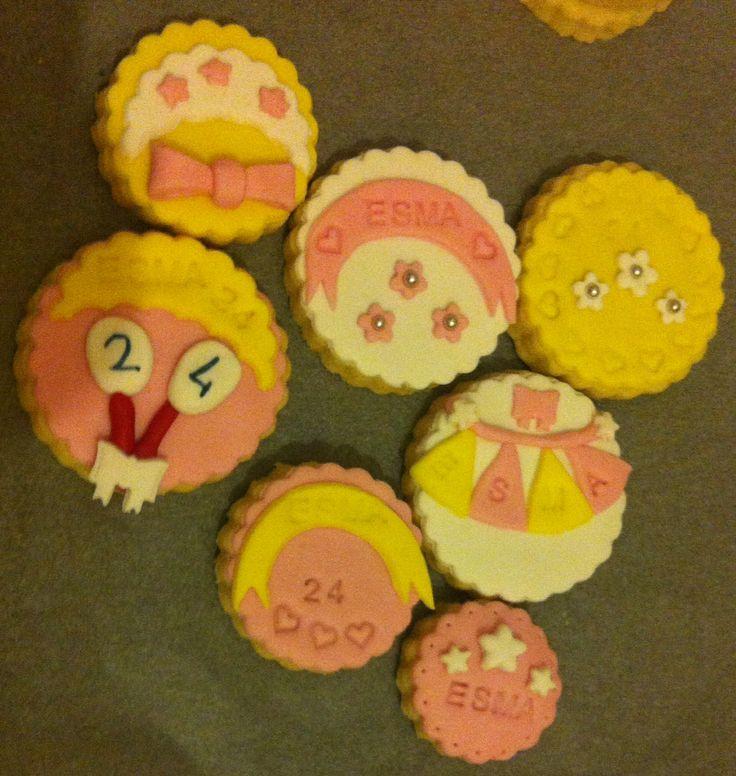Birthday cookies (doğumgünü kurabiyeleri)