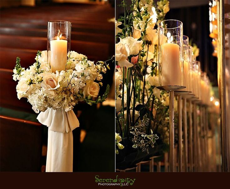 Church wedding decorations for a church wedding 2527 for Floral wedding decorations ideas