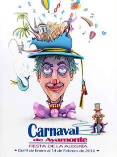 Resultado de imagen de cartel carnaval badajoz 2017