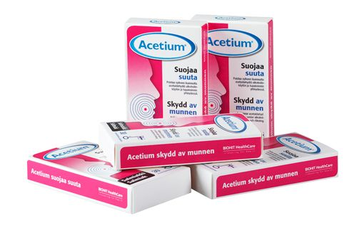 Acetium-imeskelytabletit, Salmiakki