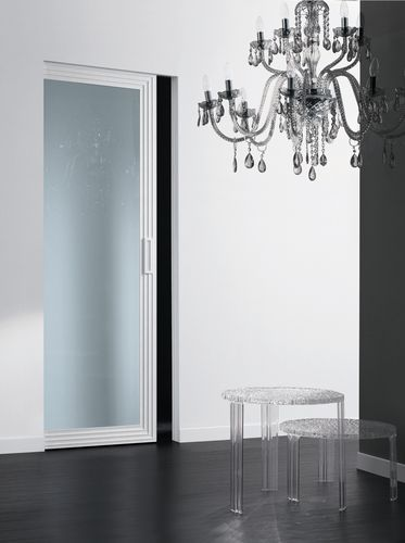 Glass pocket door DECO'  by Cavana/Santambrogio Res Italia