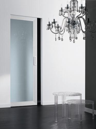 Glass pocket door DECO'  by Cavana/Santambrogio Res Italia