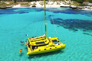 Rottnest Island, take the sunset catamaran tour!