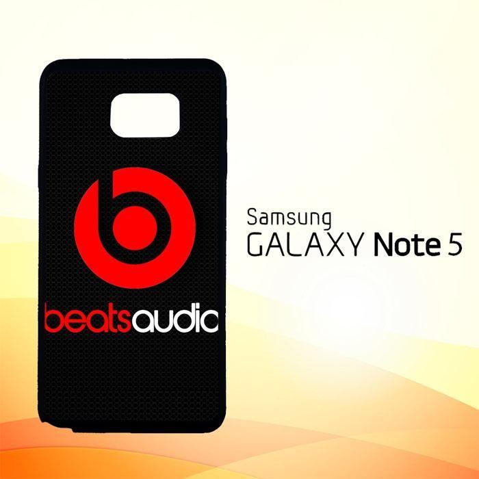 beats audio X0129 Samsung Galaxy Note 5 Case