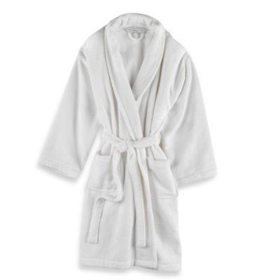 Wamsutta 194 174 Unisex Terry Robe In White Bedbathandbeyond