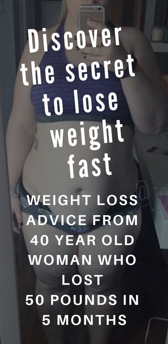 The Secret To Losing Weight Fast A 40 Year Old Woman S Journey To