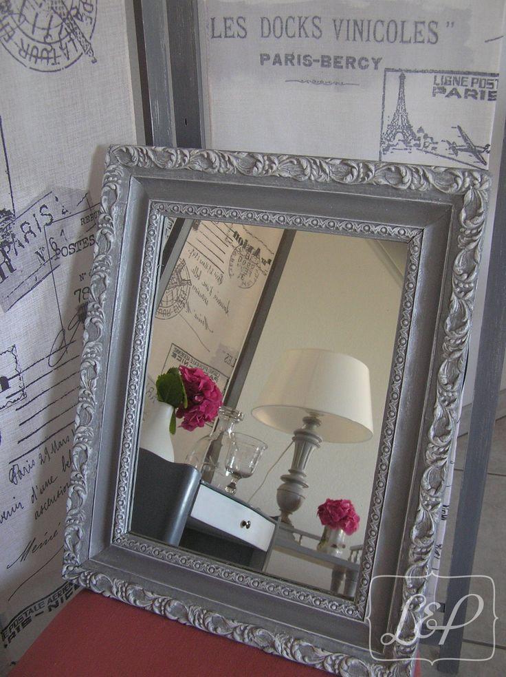 Les 25 meilleures id es concernant miroirs anciens sur for Miroir ancien