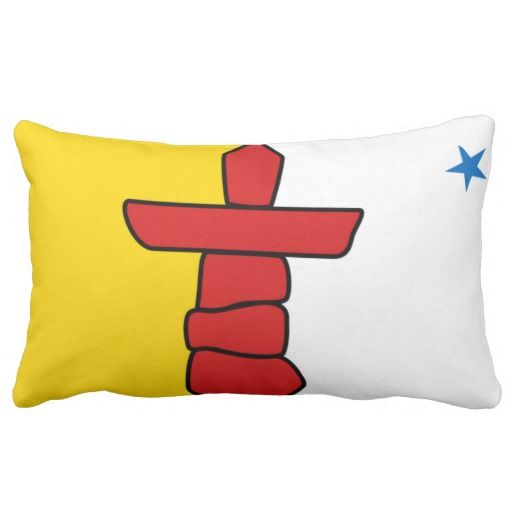 Provincial Flag Of #Nunavut Pillows
