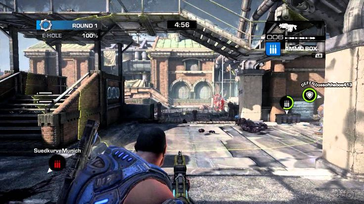 Gears Of War Judgment OverRun Demo Playing As COG