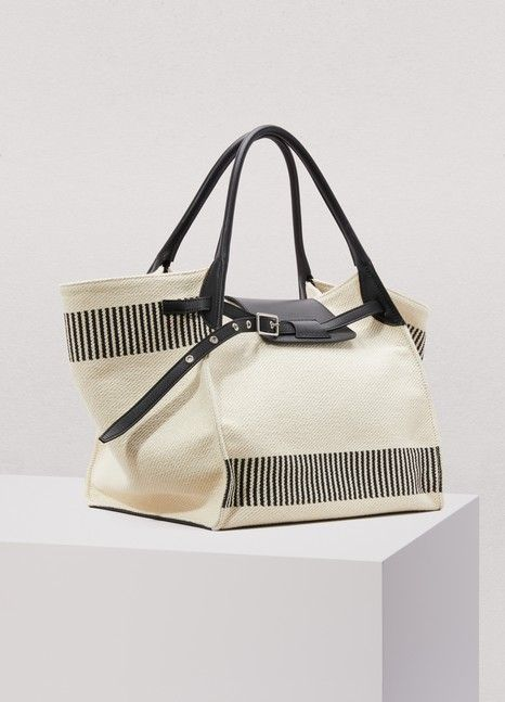 aee4011cfaf Medium Big Bag in textured canvas | Céline | 24 Sèvres | Bags in ...