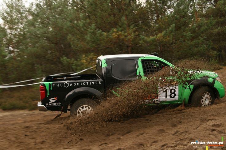 Tomasz Piec, Remigiusz Klein, Nissan Navara Green T2 / fot. mikla-foto.pl