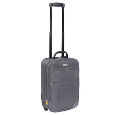 Dunlop Grey Suitcase 42 - SportsDirect.com