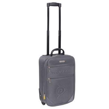 Dunlop Grey Suitcase 42 - SportsDirect.com