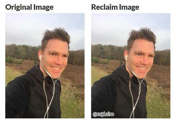 Gratis app Reclaim Yourself, initiatief van o.a. Sipke Jan Bousema, plaatst persoonlijk watermerk op je foto's zodat ze niet meer bruikbaar zijn voor derden