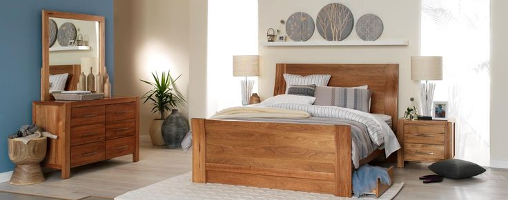 Scope light wood grain bedroom furniture suite with neutral and .