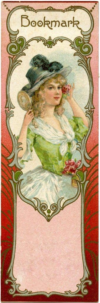 Lovely Vintage Bookmark Image! (via Bloglovin.com )