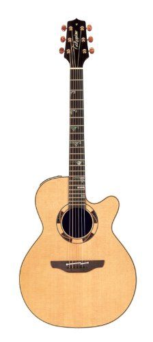 Takamine Pro Series TSF48C Santa Fe NEX Acoustic Electric Guitar, Natural with Case. TAK NEX SNAT CTP W/CS.