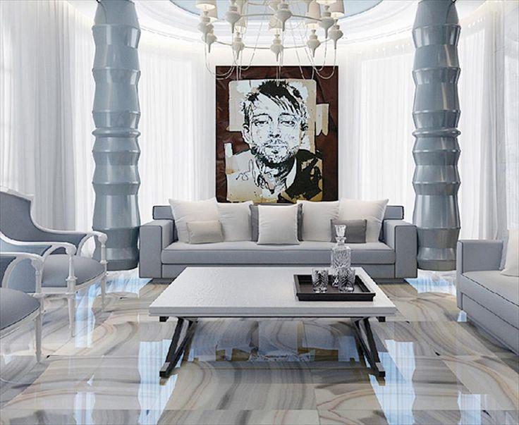 mirco crystal porcelain tile venus marble series nambia sky polished 24x24 5sq