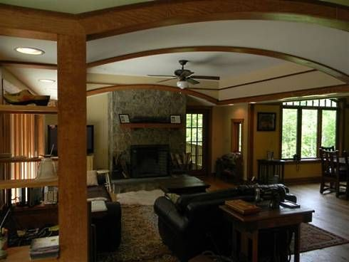 Craftsman Bungalow Interiors | ... Style Decorating and Design...Cozy and Contemporary Craftsman Style