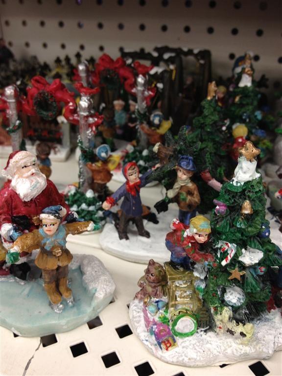 Dollar Tree: Christmas Village | Very Martha Christmas ...