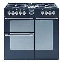 Buy Stoves Sterling 900DFT Dual Fuel Range Cooker, Black Online at johnlewis.com