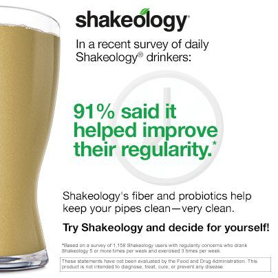 Shakeology reviews from Shakeology users. These guys experienced improved regularity! Check out other Shakeology results here: http://www.onesteptoweightloss.com/shakeology-results