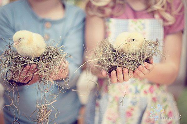 Цвета очень нежные, пастельные. Пасхальные. И вообще мимими...#пасха #цыпленок #дети #фото #easter #kids