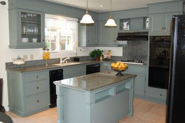 Way too much of one color..... 1960s kitchen | 1960s Kitchen Remodel