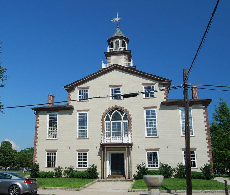 Bristol County Courthouse in Rhode Island. Bristol