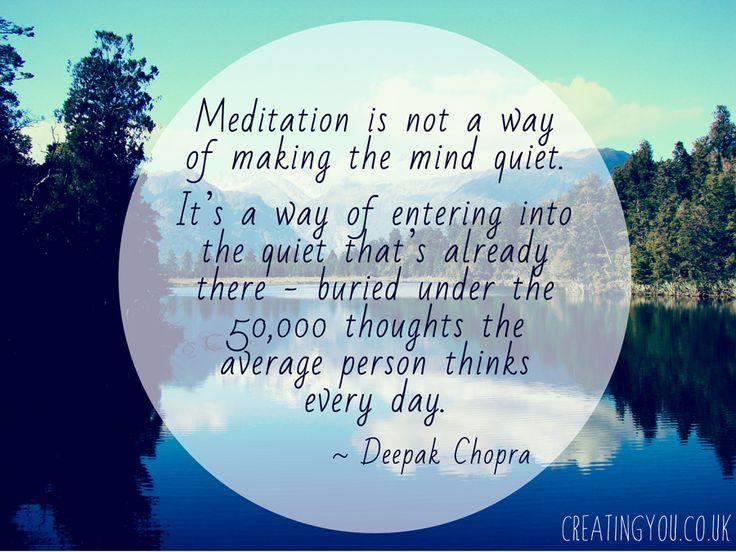 Meditation Quotes. QuotesGram