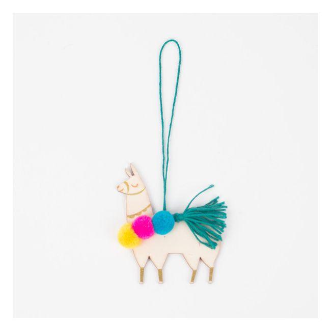 1 décoration de Noël lama