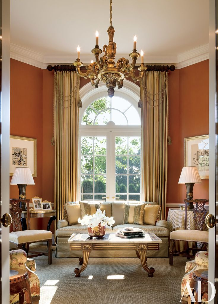Epic Allan Greenberg Crafts a Georgian Style House in New Jersey