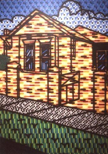 Suburban Exterior - Howard Arkley
