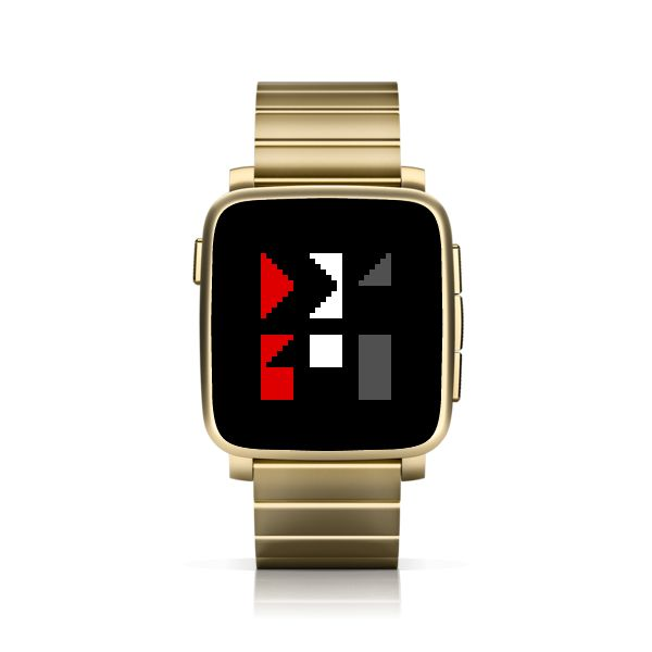 SHARPTTMM for Pebble Time Steel #PebbleTime #PebbleTimeSteel #Pebble #watchface #ttmmaftertime