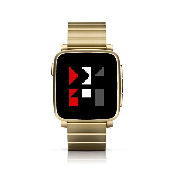 SHARPTTMM for Pebble Time Steel #PebbleTime #PebbleTimeSteel #Pebble #watchface #ttmmaftertime
