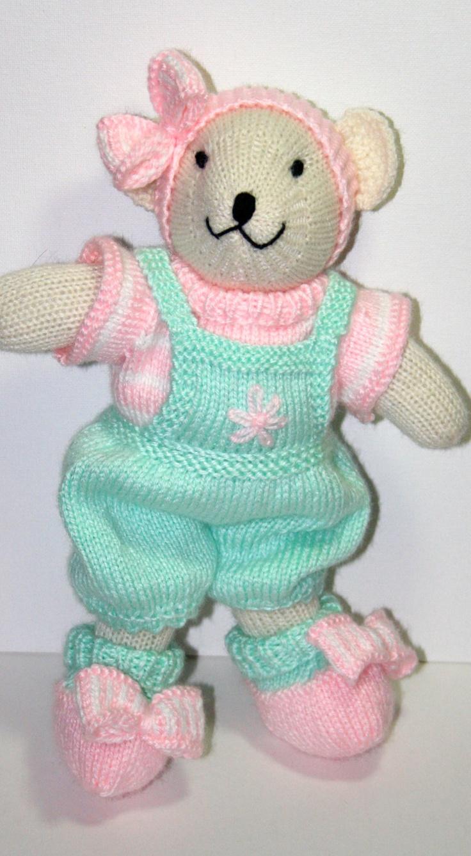 116 best knitting animals bears images on pinterest knit hand knit bear so sweet via etsy bankloansurffo Choice Image