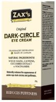 New to Pharmacymix! Zax's Dark-Circle Eye Cream was developed to reduce puffiness and minimize dark circles, leaving your eyes looking refreshed while tackling bags under your eyes. Zax's Dark-Circle Eye Cream is made with top quality cucumber extract, witch hazel, niacinamide, and caffeine.  Each one of these ingredients plays a special role in treating dark circles!