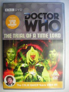 """Terror of the Vervoids"" is the third adventure of the twenty-third season, known by the global title ""The Trial of a Time Lord"", which aired in 1986 featuring the Sixth Doctor and Mel. ""Terror of the Vervoids"" has the parts that go from ninth to twelfth of this season following ""Mindwarp"" and it's a four parts adventure written by Pip and Jane Baker and directed by Chris Clough. Image from the British edition of the DVD. Click to read a review of this adventure!"