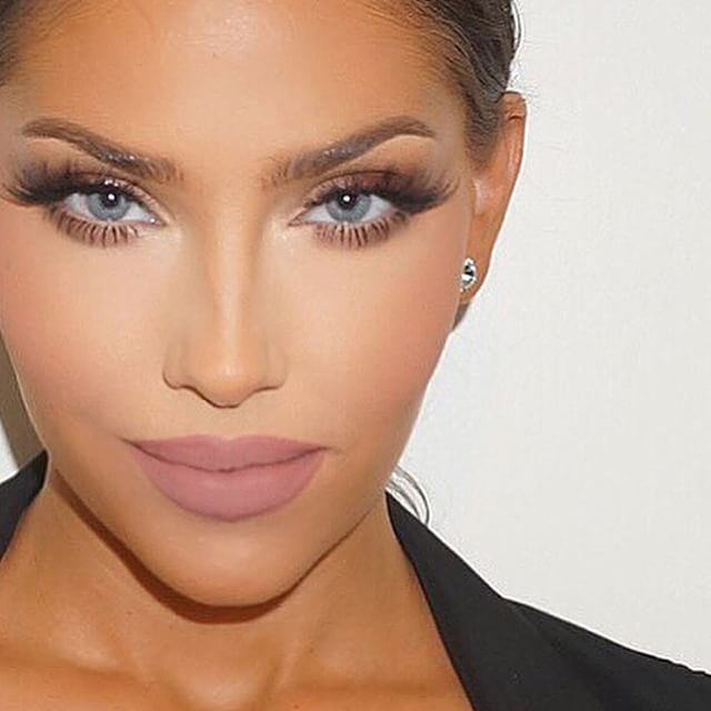 #ShareIG This glam though....... @makeupbyariel