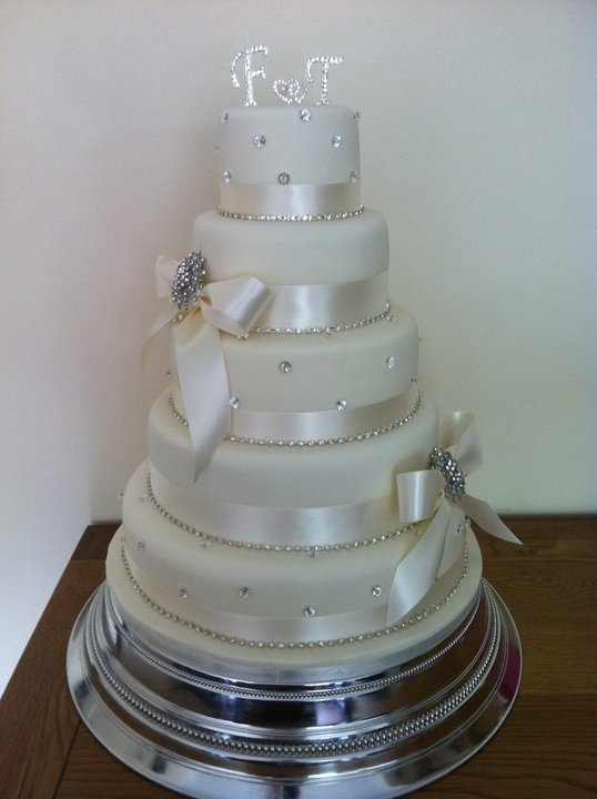 Diamante Wedding Cake By TCTTM