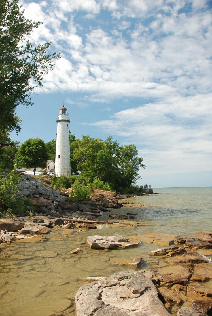 Point Aux Barques #Lighthouse - Lake Huron   http://dennisharper.lnf.com/