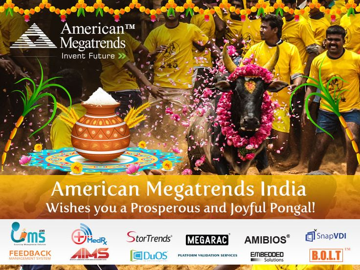 American Megatrends India Wishes You a Very #Happy #Pongal !!