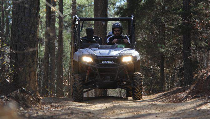 2017 Honda Pioneer 700-4 Review: Trail Ride - ATV.com Taking on Carolina Adventure World in a Pioneer