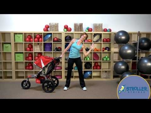 Exercises with strollers and babies