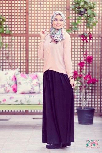 modest spring hijab, Cute pastel hijab for spring http://www.justtrendygirls.com/cute-pastel-hijab-for-spring/