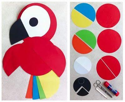 más y más manualidades: 10 divertidas manualidades con papel